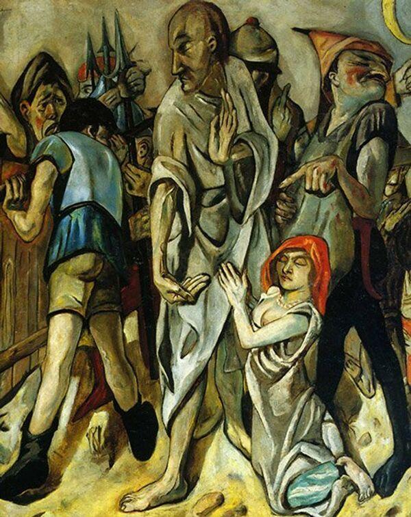 Max Beckmann Le Christ et la femme adultère - Sputnik France