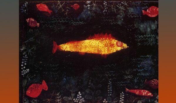 Paul Klee Le poisson d'or - Sputnik France