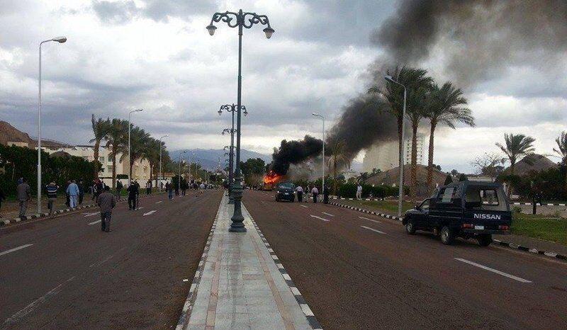Des islamistes ont revendiqué l'explosion dans le Sinaï