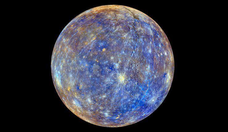 Mercure, la planète qui rétrécit