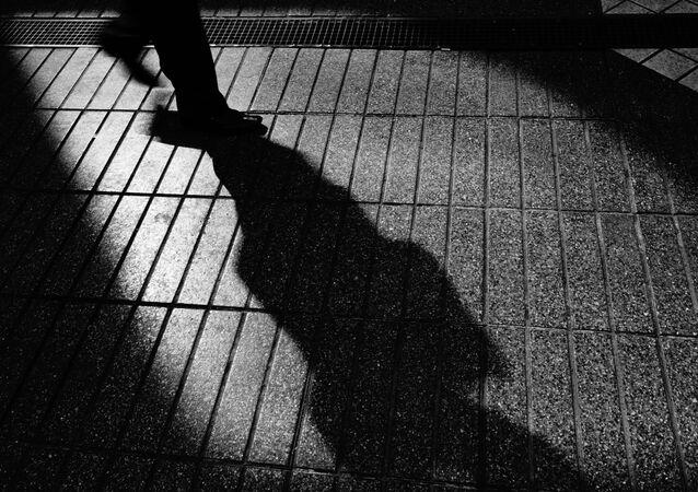 ombre d`un homme