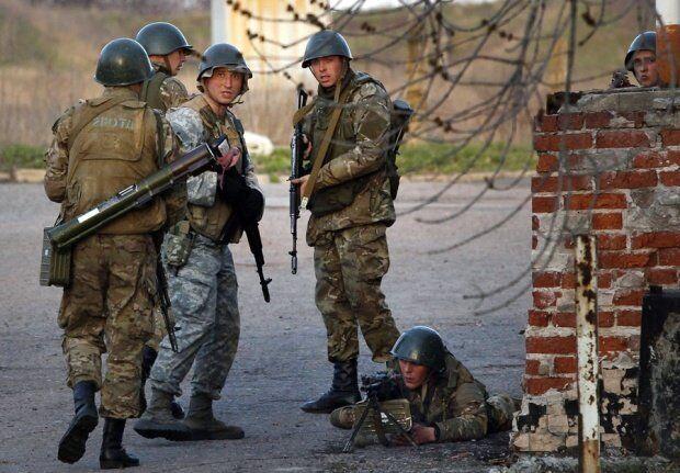 Des soldats ukrainiens