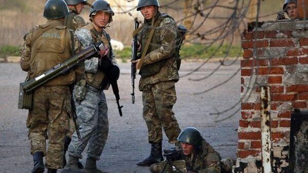 Des soldats ukrainiens - Sputnik France
