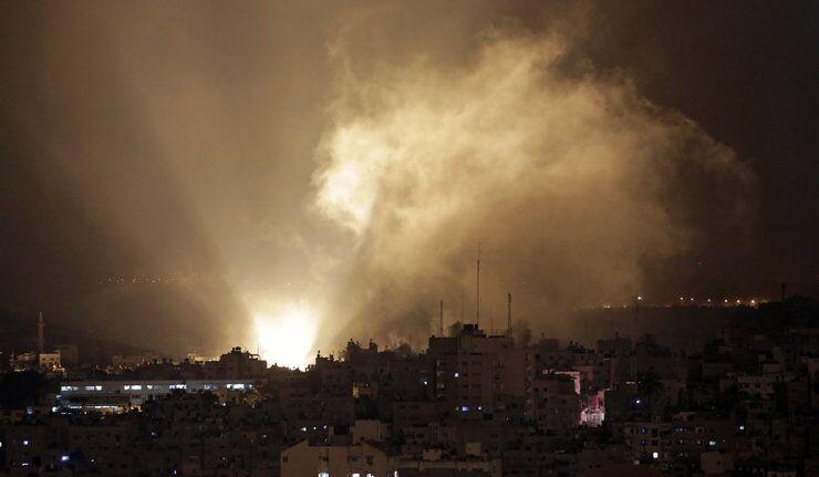 Israël frappe la maison du dirigeant du Hamas, image d'illustration