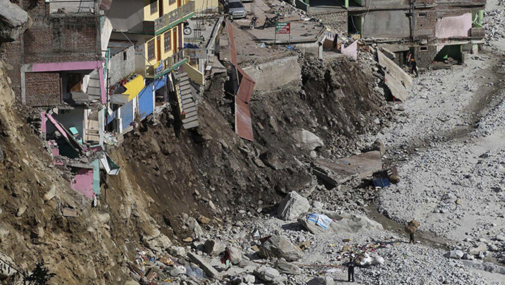 Glissement de terrain en Inde : 10 morts - Sputnik France, 1920, 11.08.2021