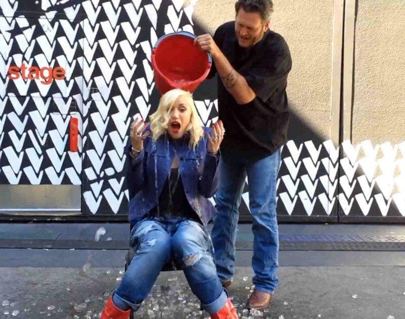Le 17 août le relais a été pris par Gwen Stefani.