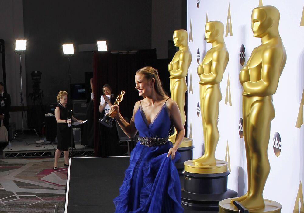 Leonardo DiCaprio et les autres lauréats de l'Oscar