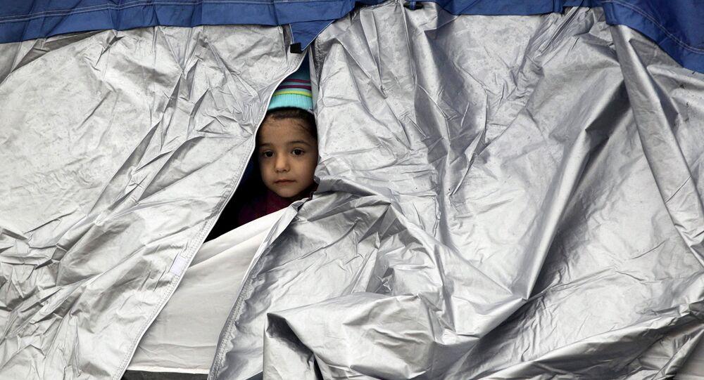 La crise migratoire en Grèce, photo d'illustration