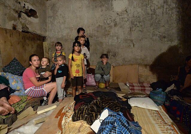 Les enfants oubliés du Donbass