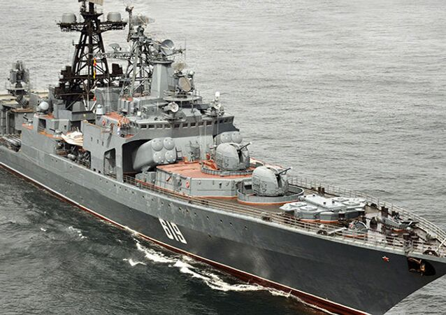 Le destroyer russe Severomorsk