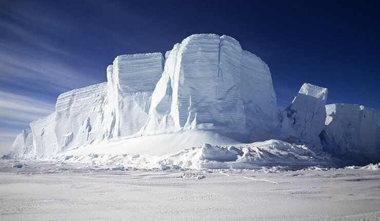 Le mercure tombe, la région Arctique menacée