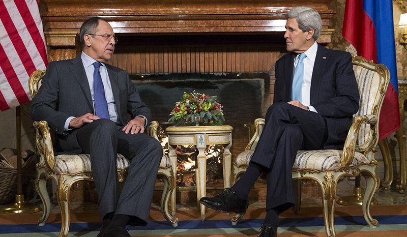 Le conflit palestino-israélien au cœur d'un entretien Lavrov-Kerry