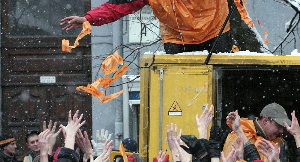 révolution orange, Kiev