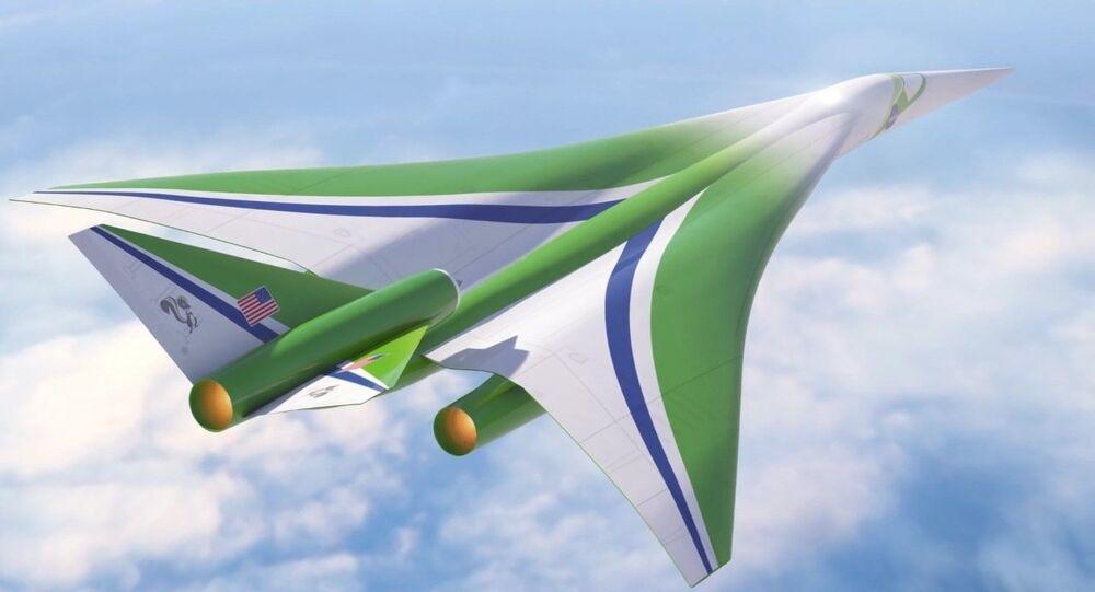 l'avion supersonique de la NASA