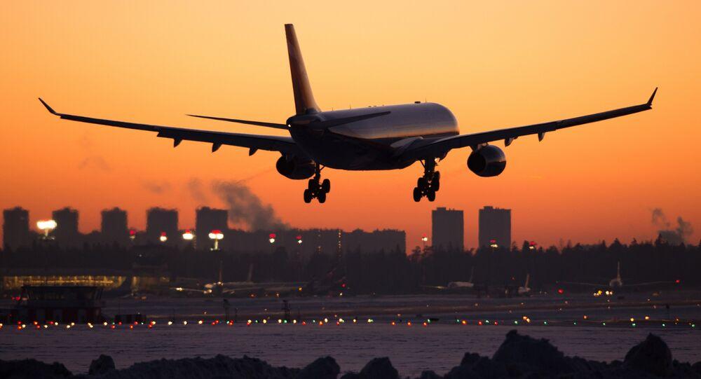 Un Airbus A330 en train de décoller