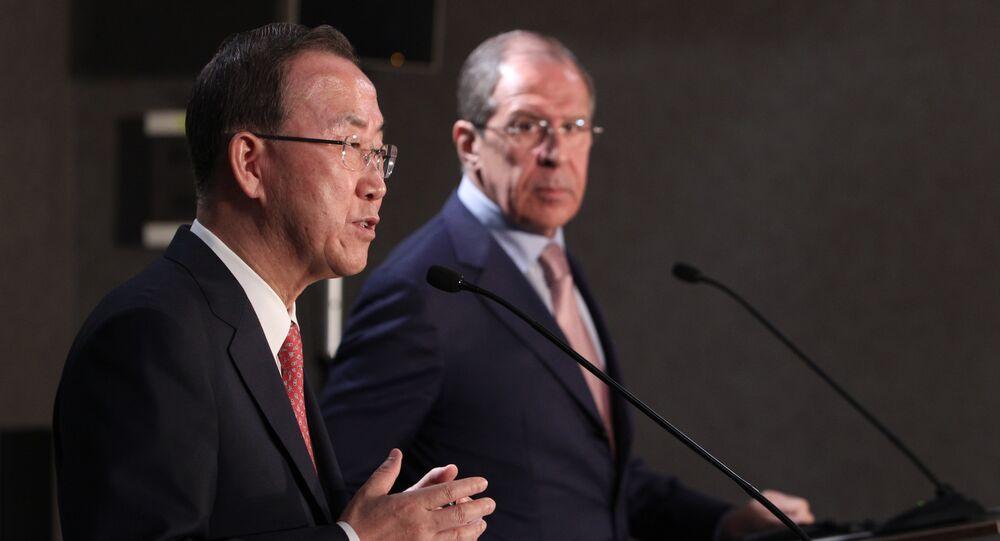 Entretien Lavrov - Ban Ki-moon