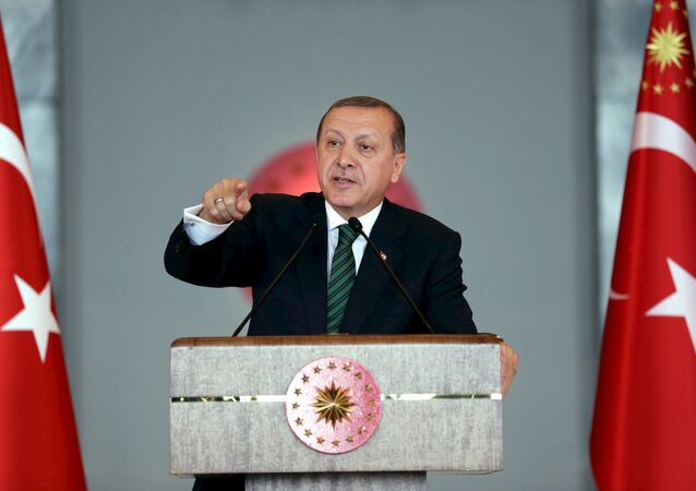 Le président Tayyip Erdogan