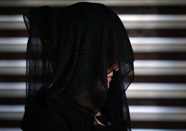 Une jeune femme yézidie