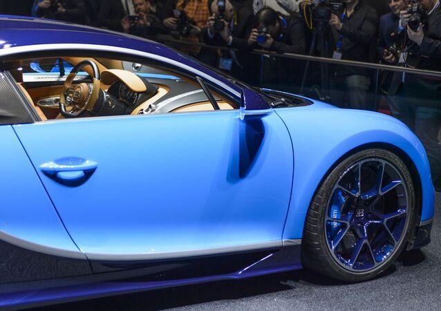 La Bugatti Chiron au 86e Salon de Genève