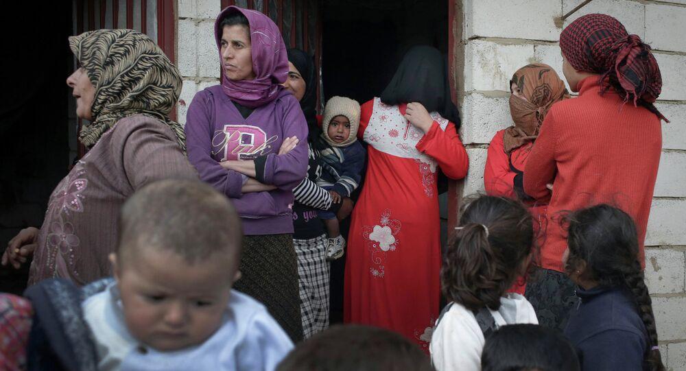 Réfugiés syriens au Liban