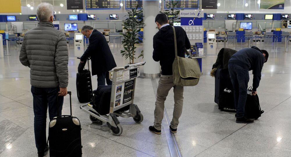 Aéroport international d'Athènes Elefthérios-Venizélos