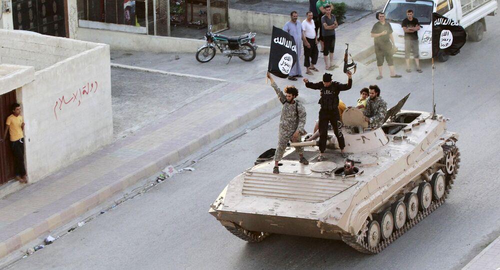 Situation à Raqqa. Archives