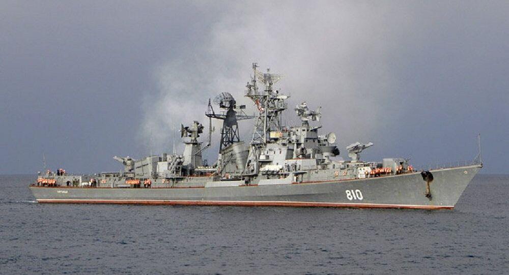 Le destroyer russe Smetlivy