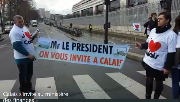 Les commerçants manifestent lundi de Calais à Paris - Sputnik France