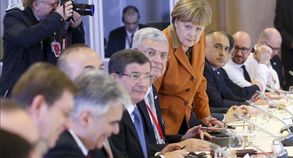 Sommet extraordinaire de l'UE à Bruxelles