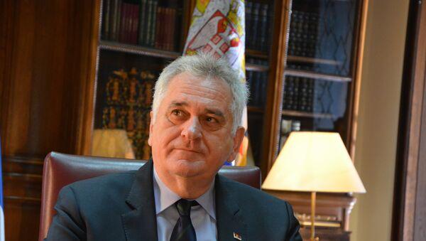 Tomislav Nikolic - Sputnik France