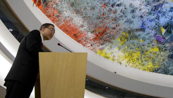 Conseil de sécurité de l'Onu, Ban Ki-moon - Sputnik France