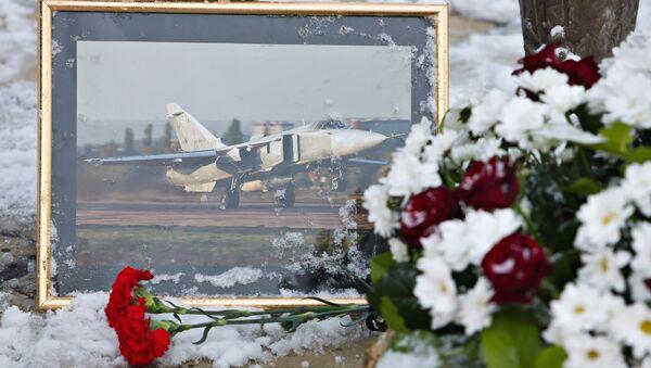 Des fleurs pour honorer la mémoire d'Oleg Peshkov - Sputnik France