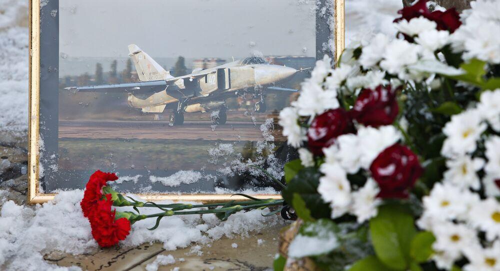 Des fleurs pour honorer la mémoire d'Oleg Peshkov