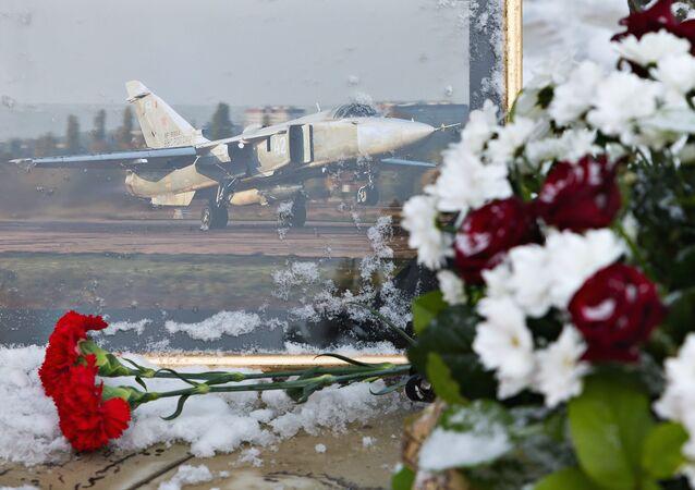 Un mémorial dédié au pilotes russe Oleg Pechkov