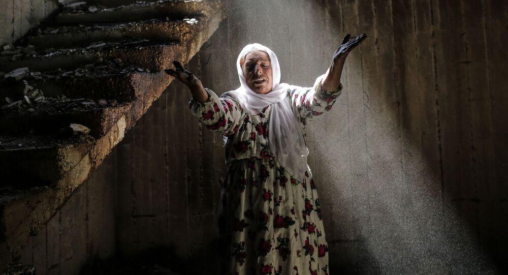 Destructions à Cizre, Turquie