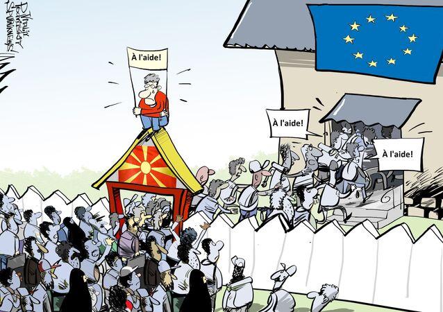 Migrants: le président macédonien critique l'UE pour son inaction