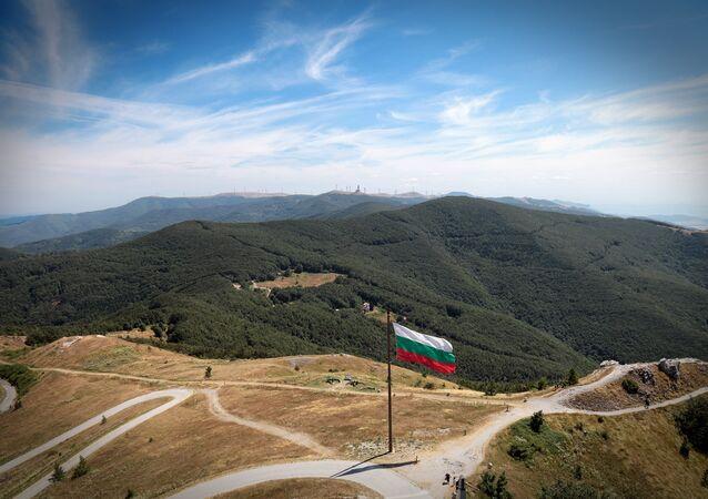 Le drapeau de la Bulgarie