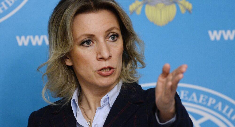 Porte-parole de la diplomatie russe Maria Zakharova