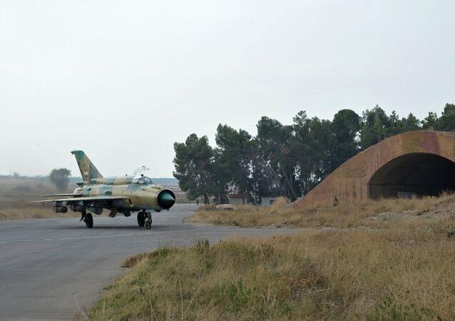 MiG-21 des forces aériennes syriennes