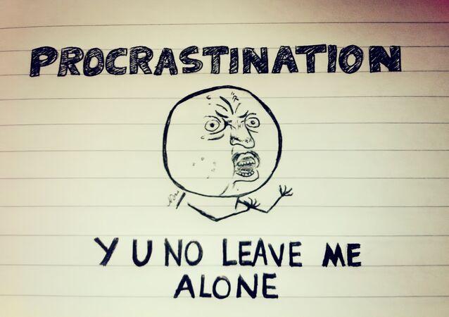 La procrastination, un signe de créativité?