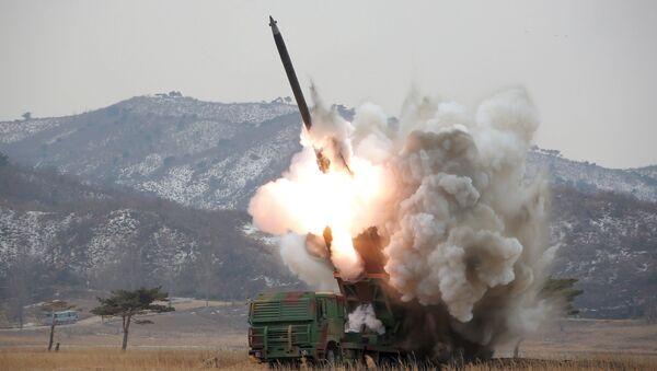 Un missile nord-coréen - Sputnik France