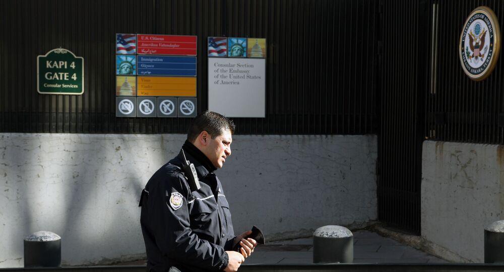 Ambassade américaine à Ankara. Archive photo