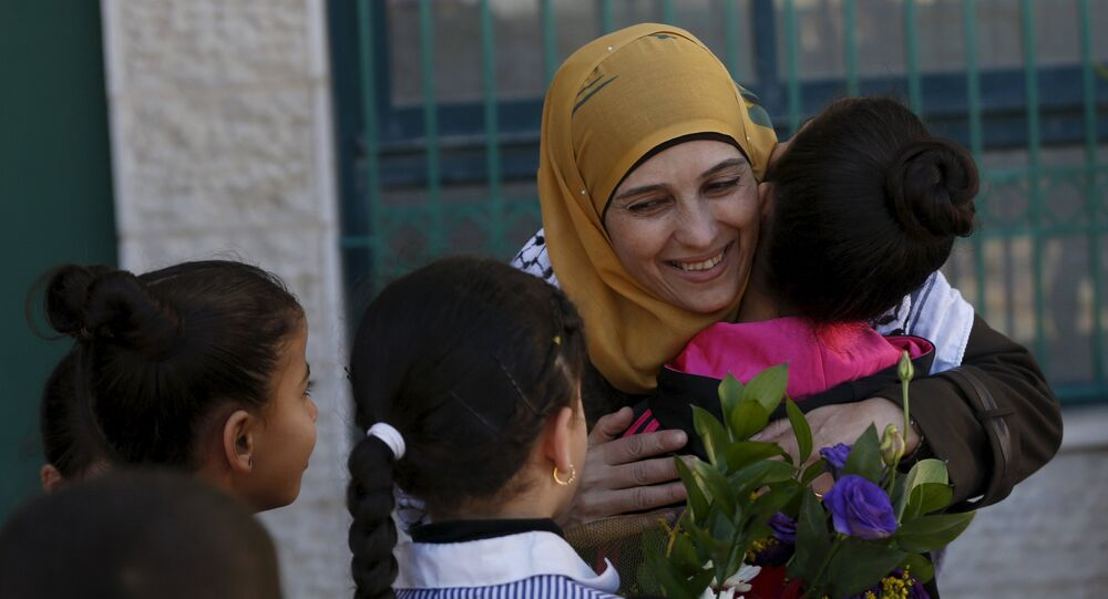 Hanan al Hroub gagne le prix de l'éducation Global Teacher Prize