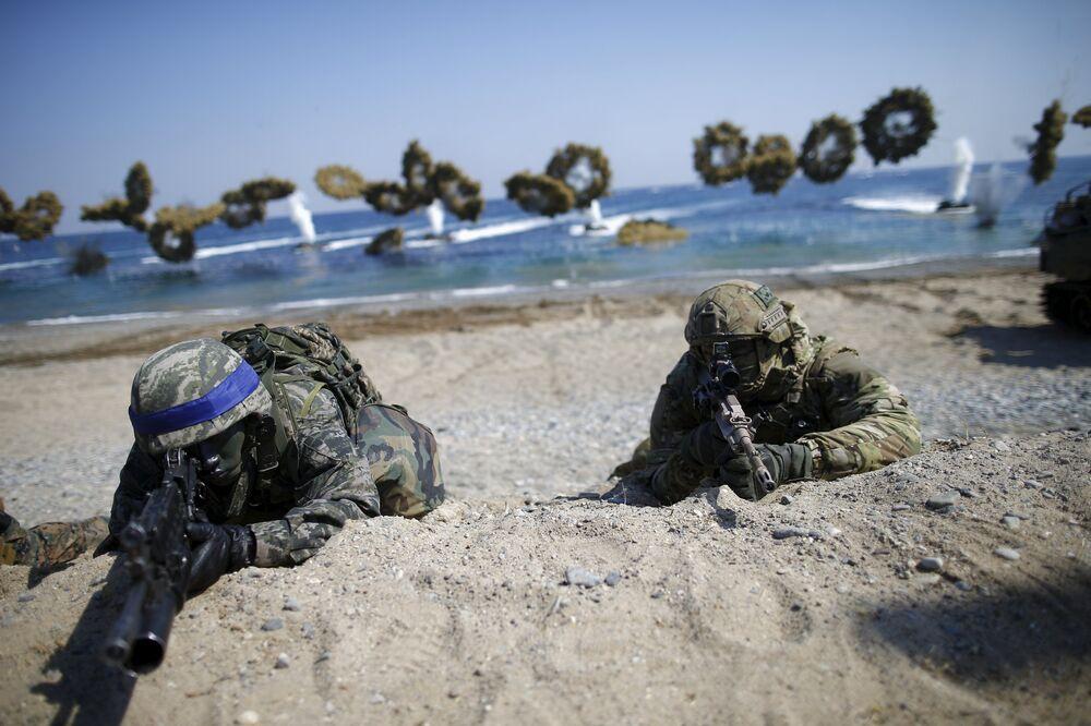 Les manœuvres militaires conjointes entre les Etats-Unis et la Corée du Sud