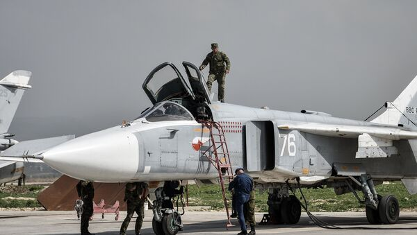 Hmeimim airbase in Syria - Sputnik France