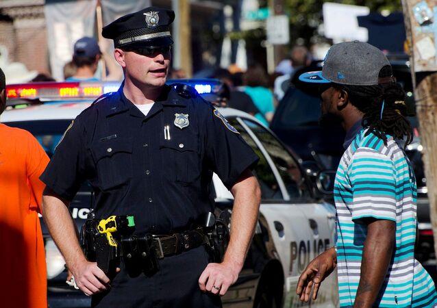 Officier de police américain