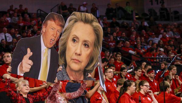 Trump et Clinton - Sputnik France