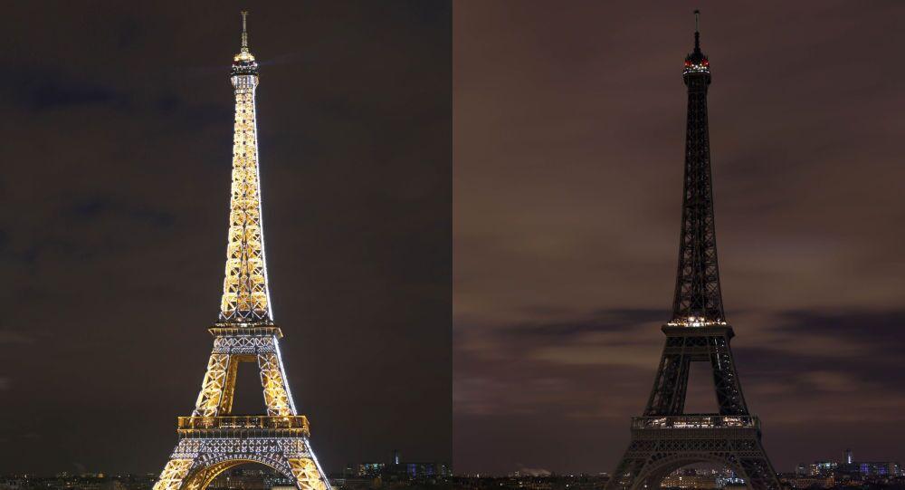 La Tour Eiffel participe à Earth Hour 2015