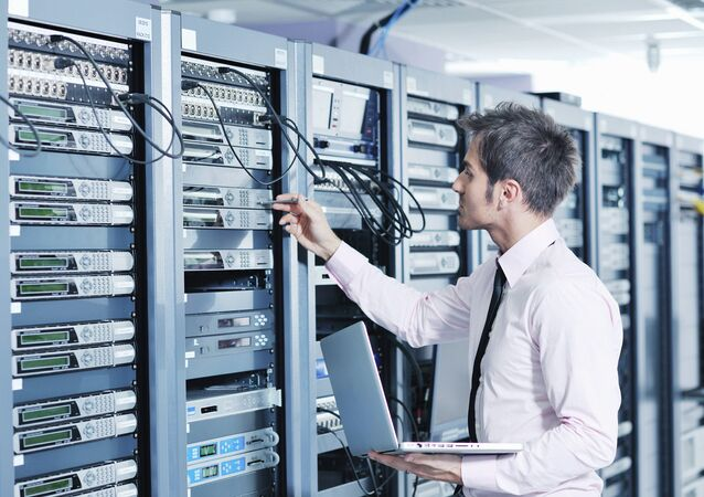 Un serveur informatique