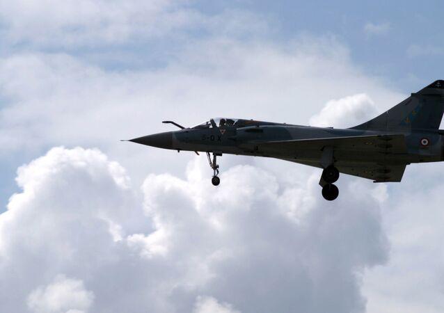 Французский истребитель Мираж-200 на МАКС-2005